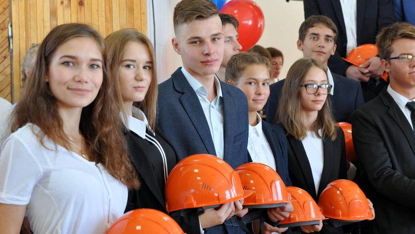 Продолжить образование в строительном классе решили 28 учеников из разных школ Архангельска