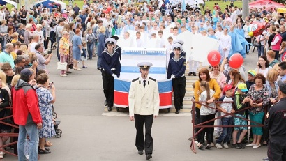 Архангельск – город с морской душой