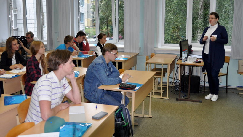 Первые занятия в школе «Созвездие» объединили 36 юных северян, решивших посвятить часть своих каникул изучению наук