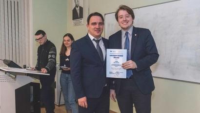 На общем собрании по итогам работы в 2019 году лучшим студентам-активистам были вручены награды