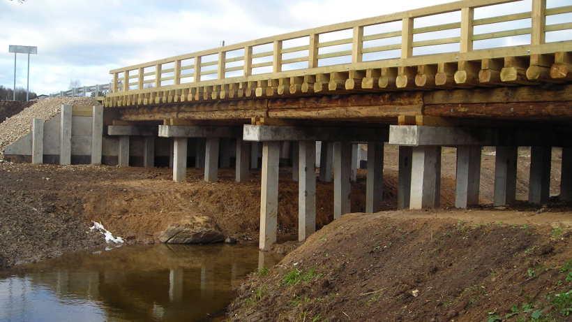 Мост соединил с районным центром три деревни района