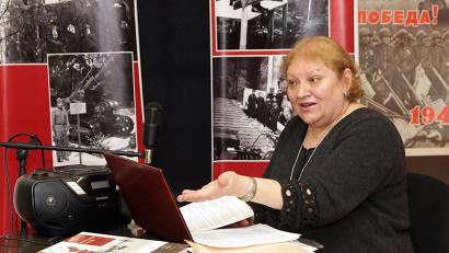 Ирина Иевлева – художественный руководитель и главный режиссер областного конкурса фольклорных коллективов имени А.Я. Колотиловой
