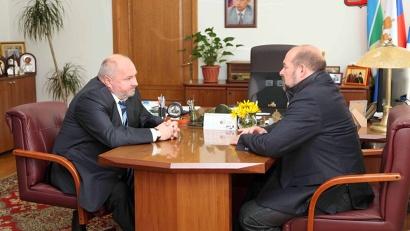 Встреча с мэром Коряжмы Валерием Елезовым