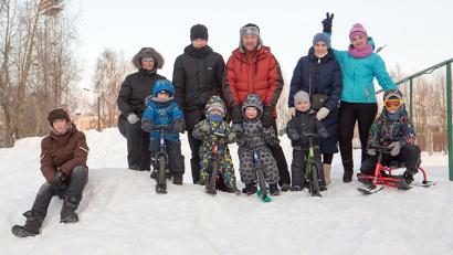 Все участники Дня снега получили массу положительных эмоций и заряд хорошего настроения