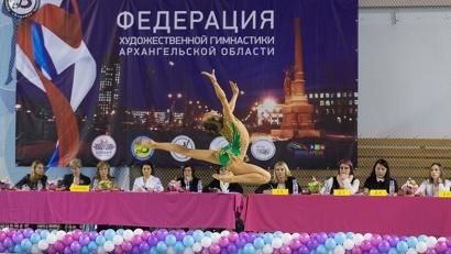 Честь Архангельской области на зональном первенстве защищали 13 гимнасток в личном многоборье и шесть – в групповых упражнениях