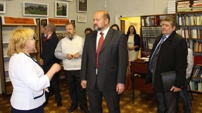 Игорь Орлов - в Карпогорской межпоселенческой библиотеке