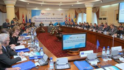 В заседании приняли участие представители России, Финляндии, Норвегии, Швеции и Евросоюза