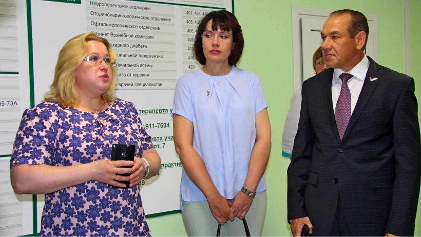 Главный врач поликлиники Анастасия Фомина рассказала экспертам ОНФ о планах на будущее