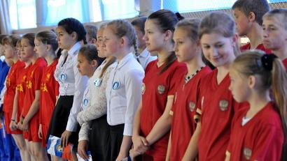 В «Президентских состязаниях» участвуют команды, составленные из учеников одного класса.