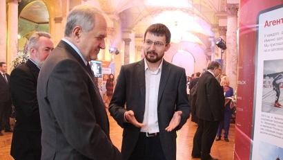 Полпреду рассказали о ключевых медиапроектах, реализованных в Поморье в 2015 году