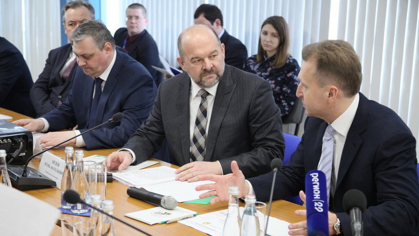 Игорь Орлов обсудил с Игорем Шуваловым итоги реализации приоритетной программы «Комплексное развитие моногородов»