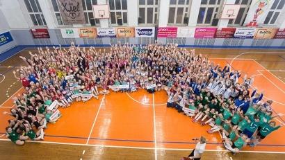Более 300 молодых волейболисток Северо-Запада России оспаривают медали турнира. Фото: агентство по спорту Архангельской области