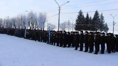 В торжественном смотре войск примет участие около 300 человек