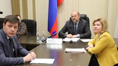 В правительстве региона состоялся прием губернатором Игорем Орловым граждан Архангельской области в режиме видеоконференцсвязи