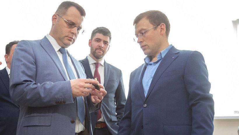 Алексею Никитенко представили результаты работы одной из компаний-резидентов инновационного центра