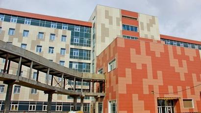Перинатальный центр на 130 коек строится в Архангельске с октября 2014 года по региональной программе модернизации здравоохранения