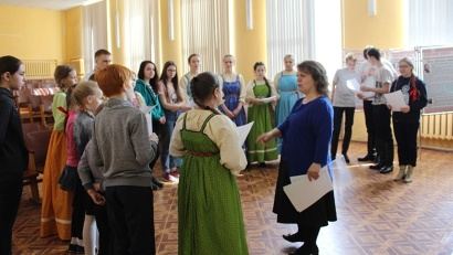 В III «Фолк-лаборатории северных территорий» приняло участие более 80 детей из Пинежского района и Архангельска