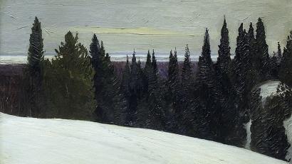 Главной темой творчества художника Борисова был Крайний Север