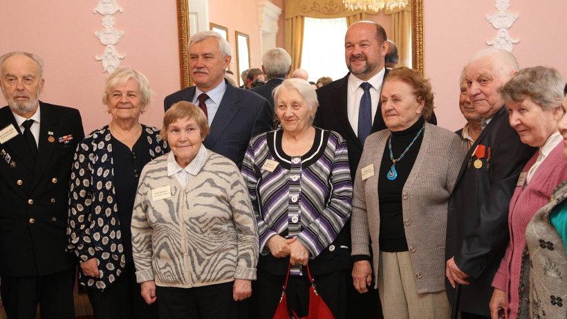 Участниками встречи стали 12 жителей блокадного Ленинграда