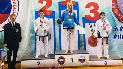 Победительница чемпионата России по тхэквондо, мастер спорта России международного класса Марина Миронова