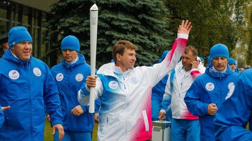 Олимпийский чемпион Алексей Ягудин