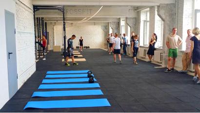 Официально первый зал для занятий кроссфитом будет открыт в начале сентября