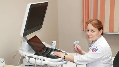 Специалисты центра высоко оценили возможности новой ультразвуковой системы