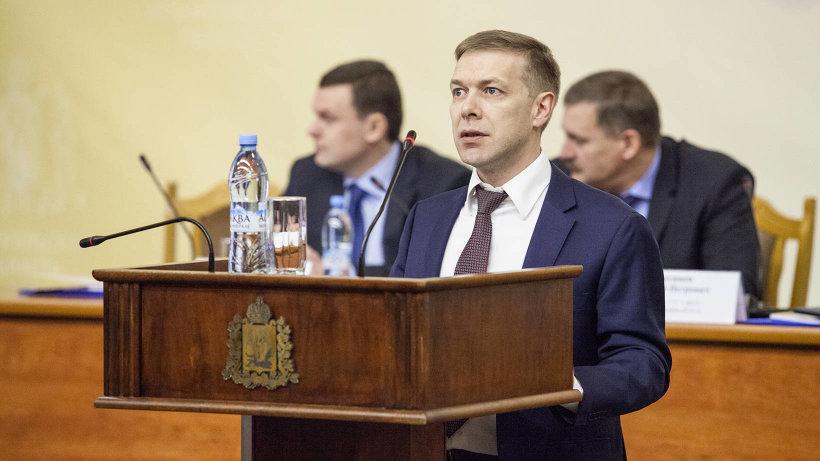Министр ТЭК и ЖКХ Архангельской области Андрей Поташев