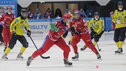 Первая игра для сборной России прошла с командой Казахстана