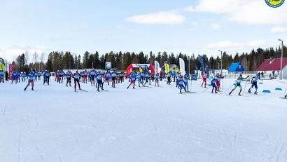 Более 300 любителей лыжного спорта вышли на старт X Поморского марафона