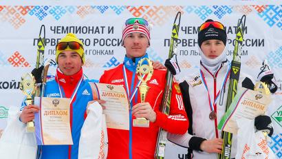 Алексей Червоткин (II место), Кирилл Вичужанин и Ермил Вокуев (III место)
