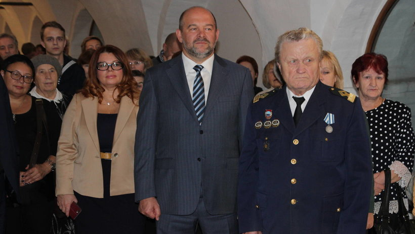 Выставочный проект «Архангельская область: трудовая биография» открыл губернатор Игорь Орлов