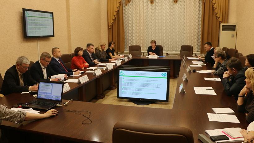 В правительстве Архангельской области прошло заседание координационного совета по делам инвалидов