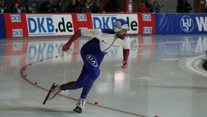 Конькобежец из Архангельска показал своё лучшее время в этом сезоне