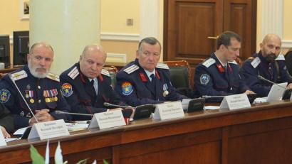 Атаманы казачьих обществ и общественных организаций казаков Поморья вносят неоценимый вклад в дело патриотического воспитания