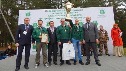 Победа работникам Вельского лесничества досталась в упорной борьбе