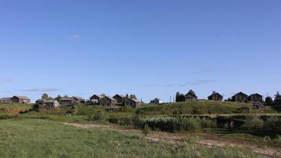 Деревня Кильца, фото Александра Мерзлова
