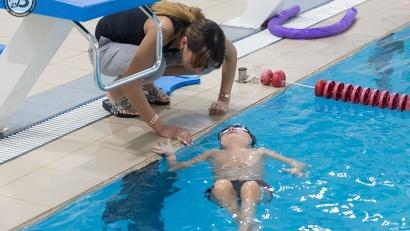 Открытая тренировка по плаванию