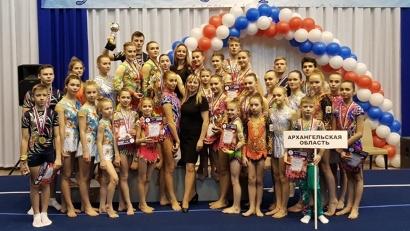 Акробаты Поморья успешно выступили в Калининграде