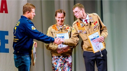 Награды нашли своих победителей - лучших бойцов, комиссаров и командиров