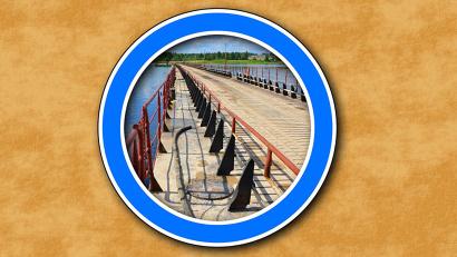 Пока при проезде по низководному мосту через Курью на автодороге Новодвинск - Холмогоры действуют ограничения по превышению массы автомобиля