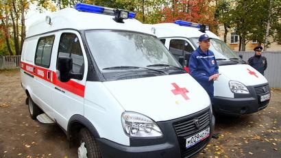 Северодвинская станция скорой помощи получила 11 новых машин