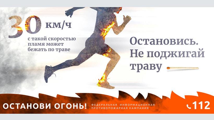 Для исключения возникновения палов сухой травы Рослесхоз рекомендовал обеспечить принятие дополнительных мер пожарной безопасности