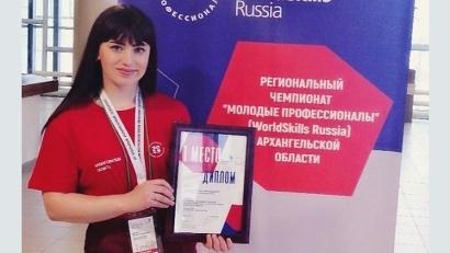 Светлана Надеина заняла первое место по компетенции «Медицинский и социальный уход»
