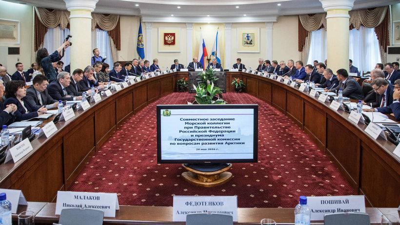 Среди тем заседания – развитие Северного морского пути, строительство «Белкомура» и глубоководного района Архангельского порта