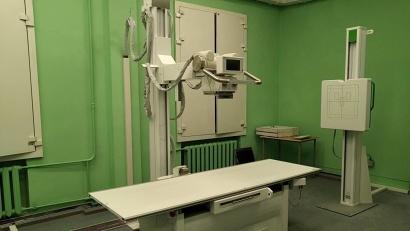 Цифровой рентгеновский аппарат установлен в детской поликлинике