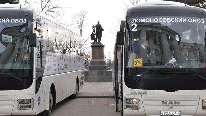 Во вторник, 5 апреля, школьники отправятся в Москву дорогой Михайло Ломоносова.