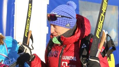 Олимпийский чемпион Александр Легков