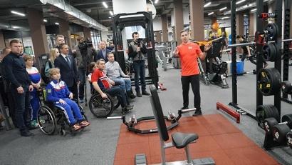 Площадь нового инклюзивного спортзала – 700 квадратных метров