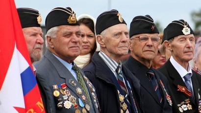 Юнги-ветераны, выпускники Соловецкой школы сороковых годов